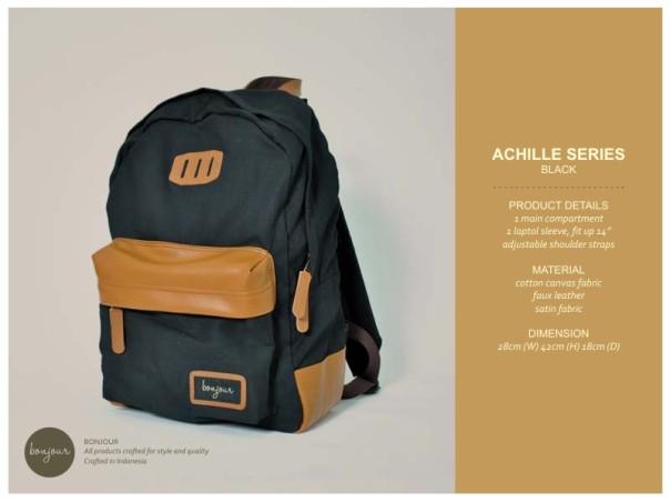 Achille Series IDR 210.000 (tersedia warna Blue, Cream, Navy, Ollive)